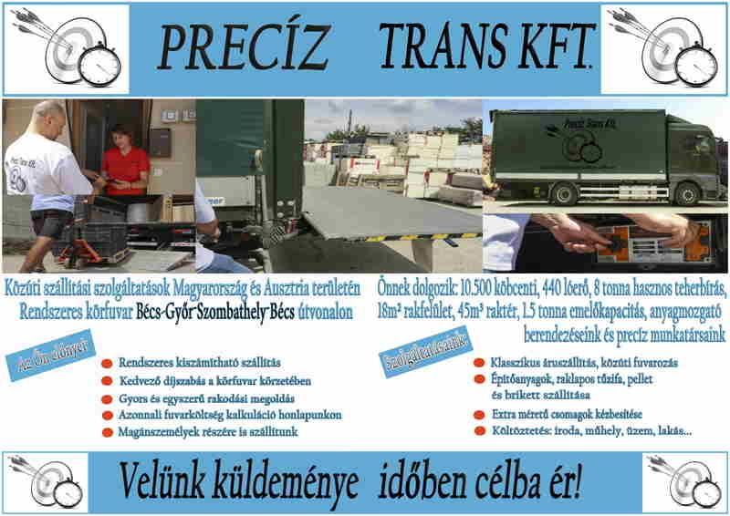 Belső dupla oldal, szállítás szolgáltatások, előnyök, technikai adatok